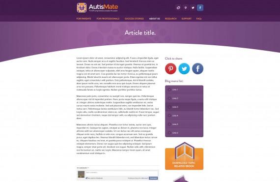 website design screenshot 2