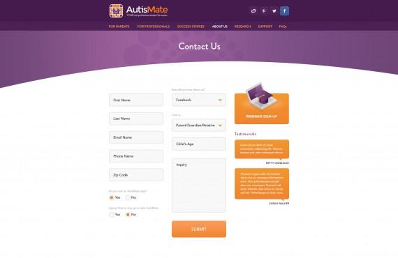 website design screenshot 6