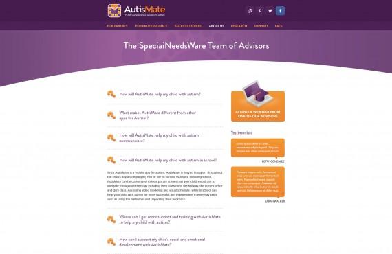 website design screenshot 7