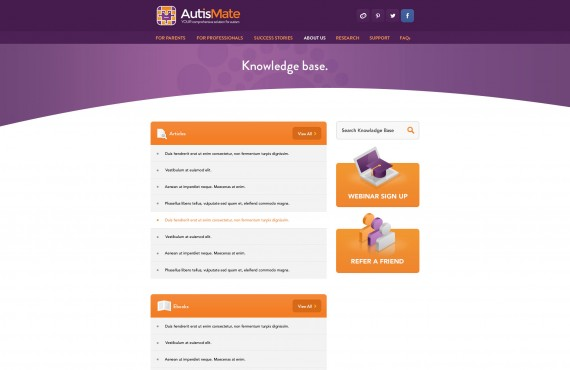website design screenshot 9