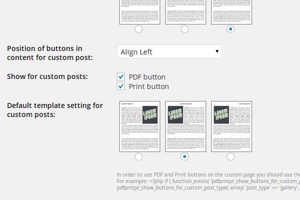 PDF & Print Pro Plugin
