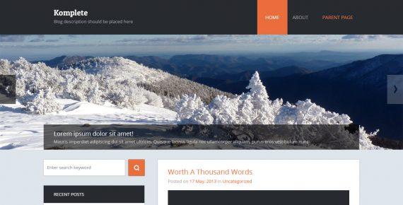 travel planet – miltipurpose psd template screenshot 1