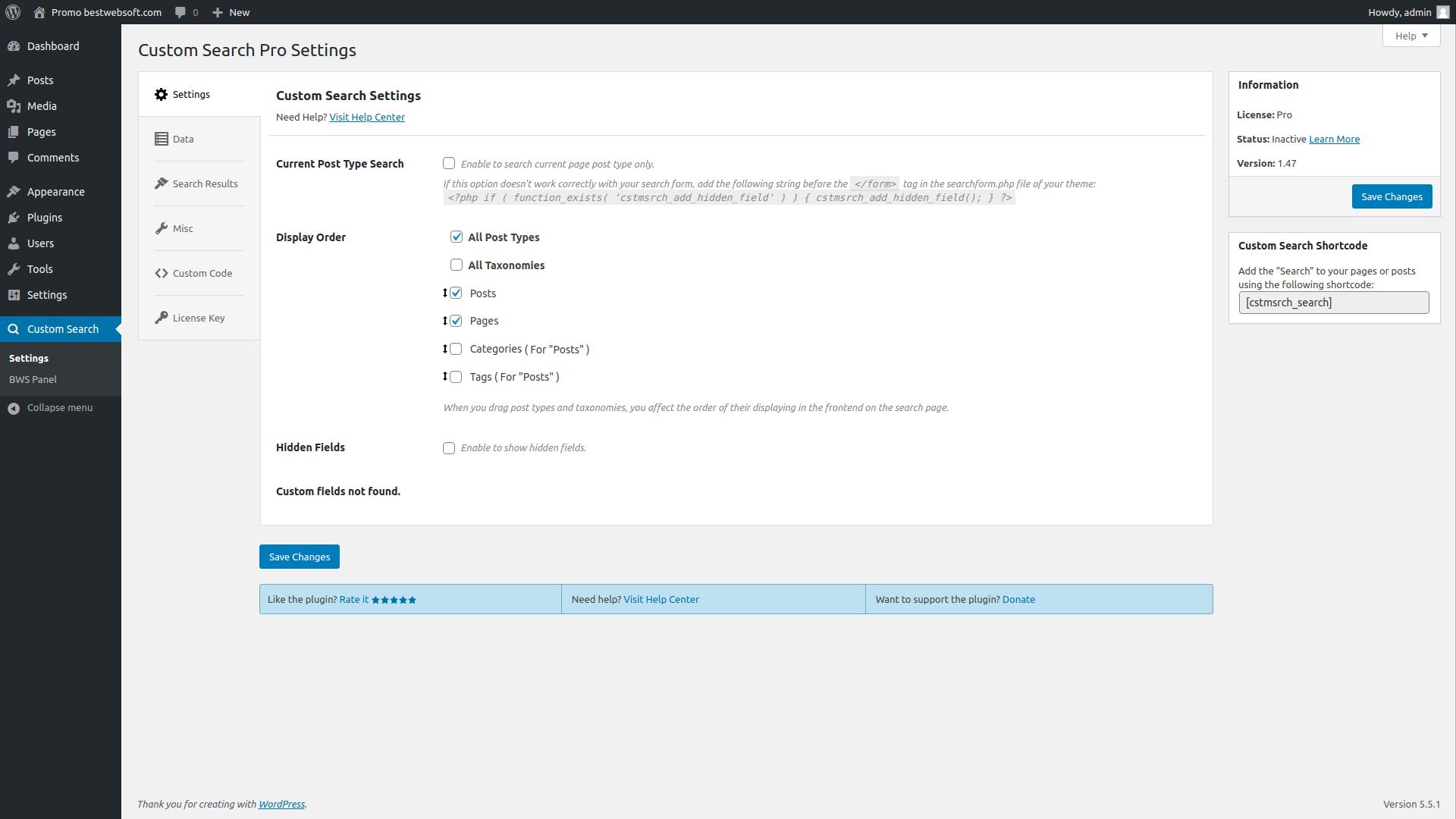 custom search screenshot 3