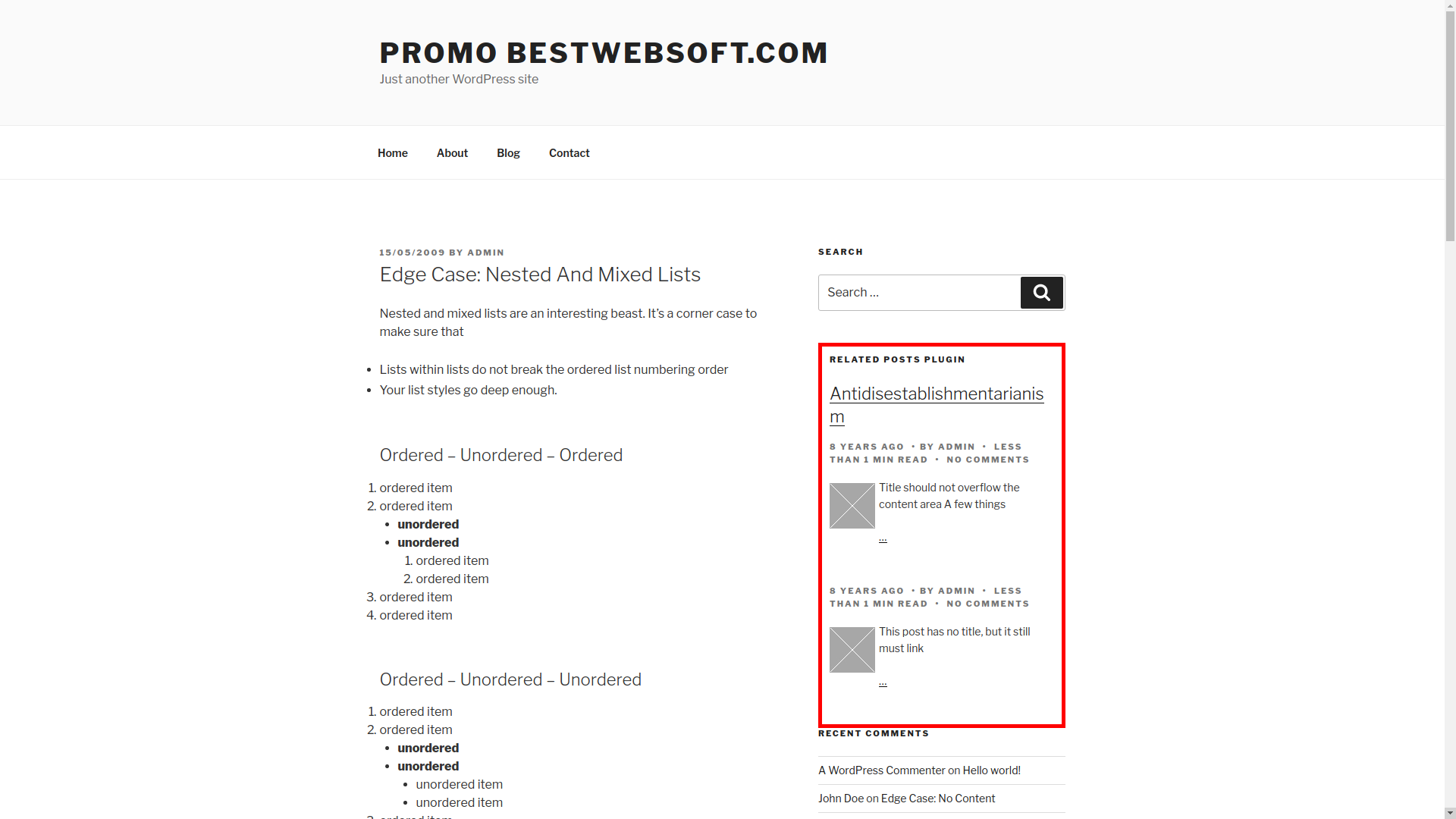 relevant – related, featured, latest, and popular posts screenshot 8