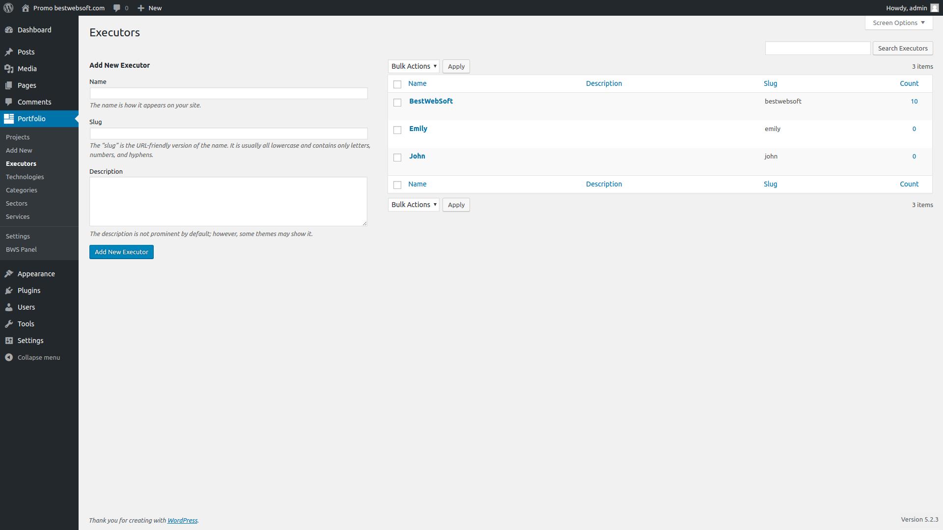 portfolio screenshot 6