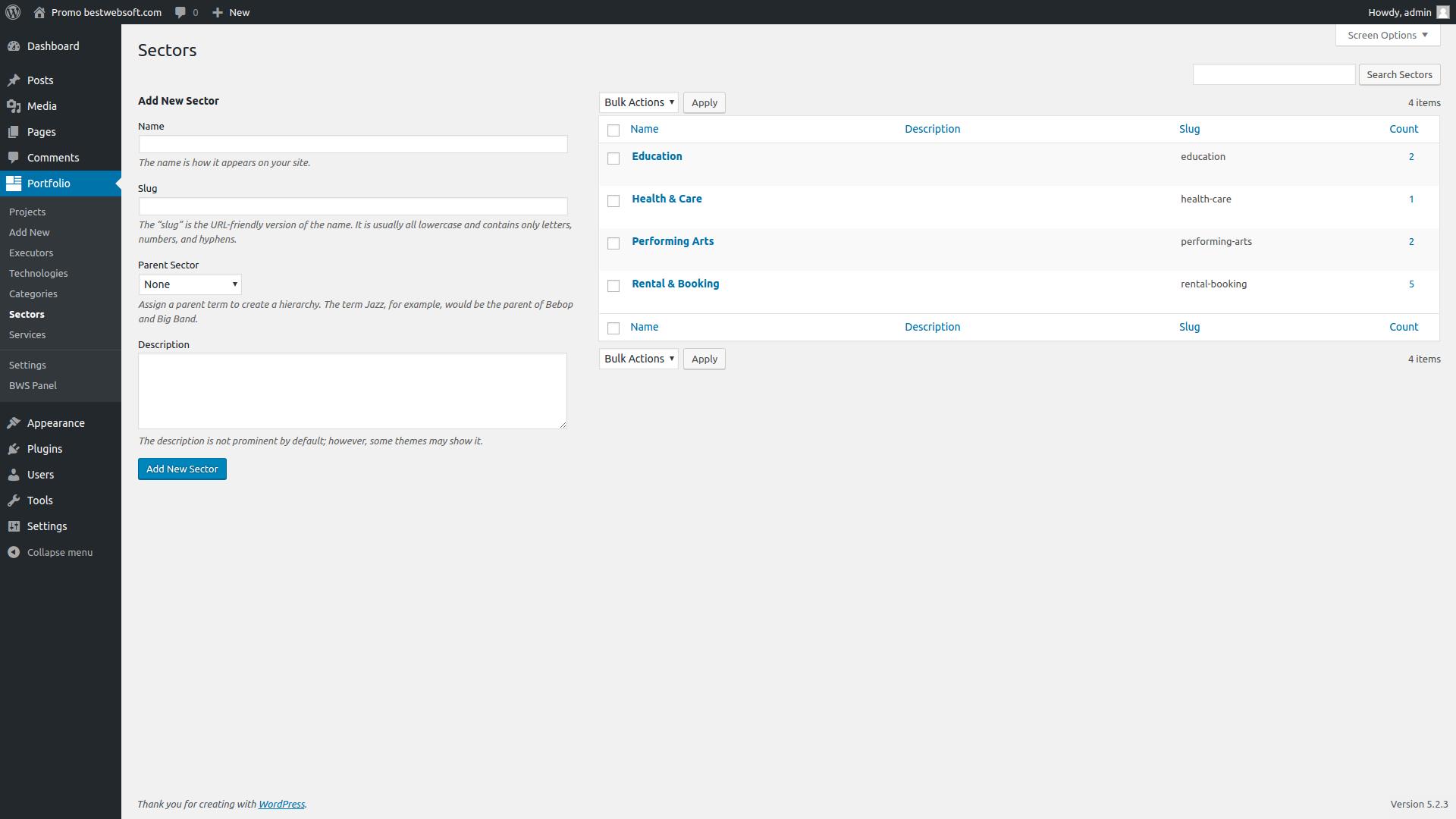 portfolio screenshot 7