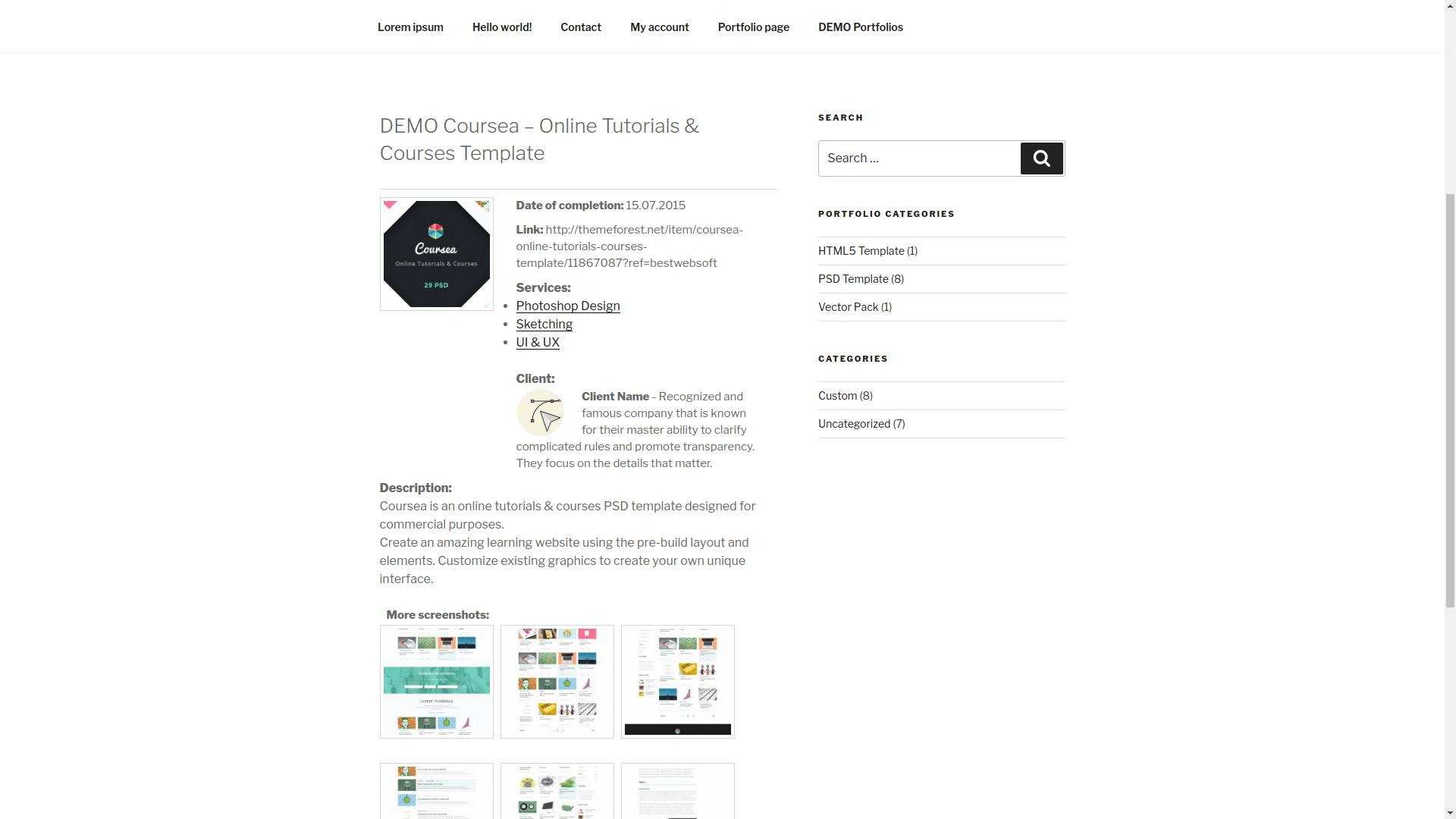 portfolio screenshot 11