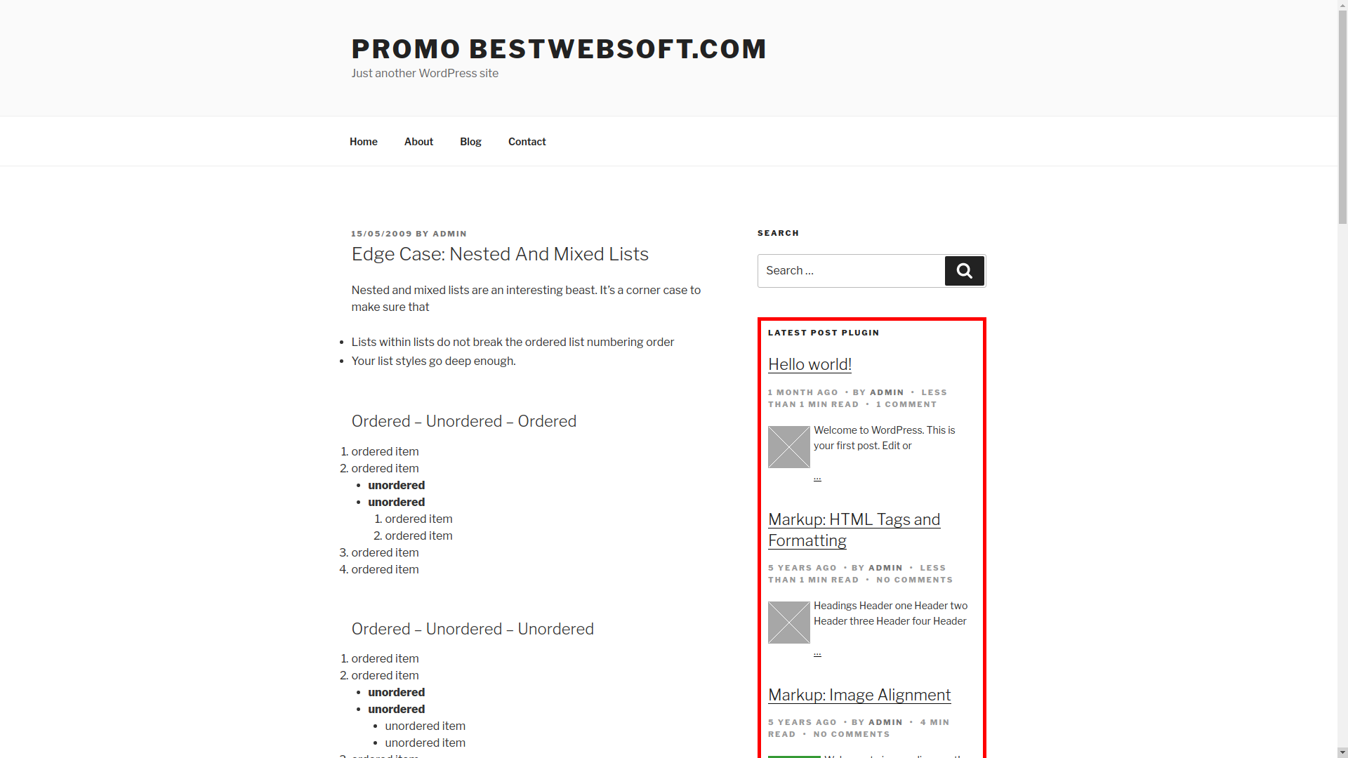 relevant – related, featured, latest, and popular posts screenshot 9