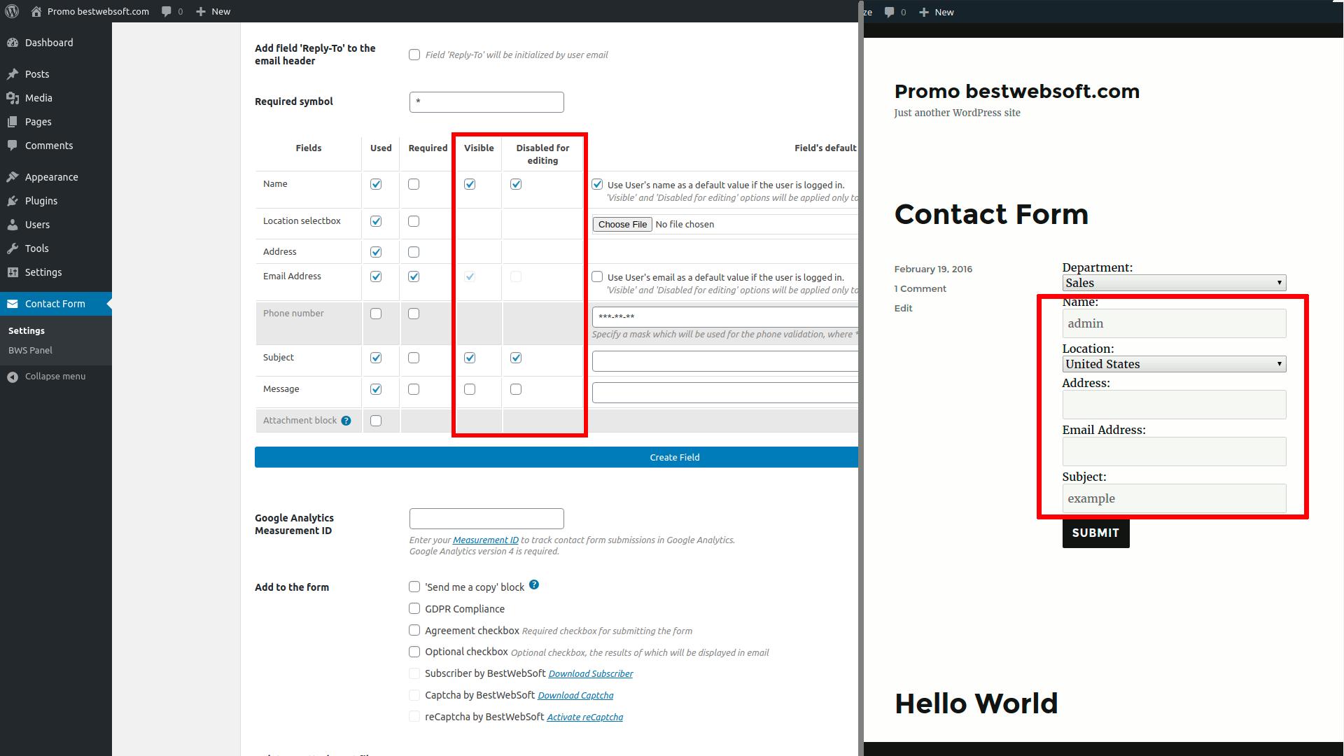 contact form screenshot 29