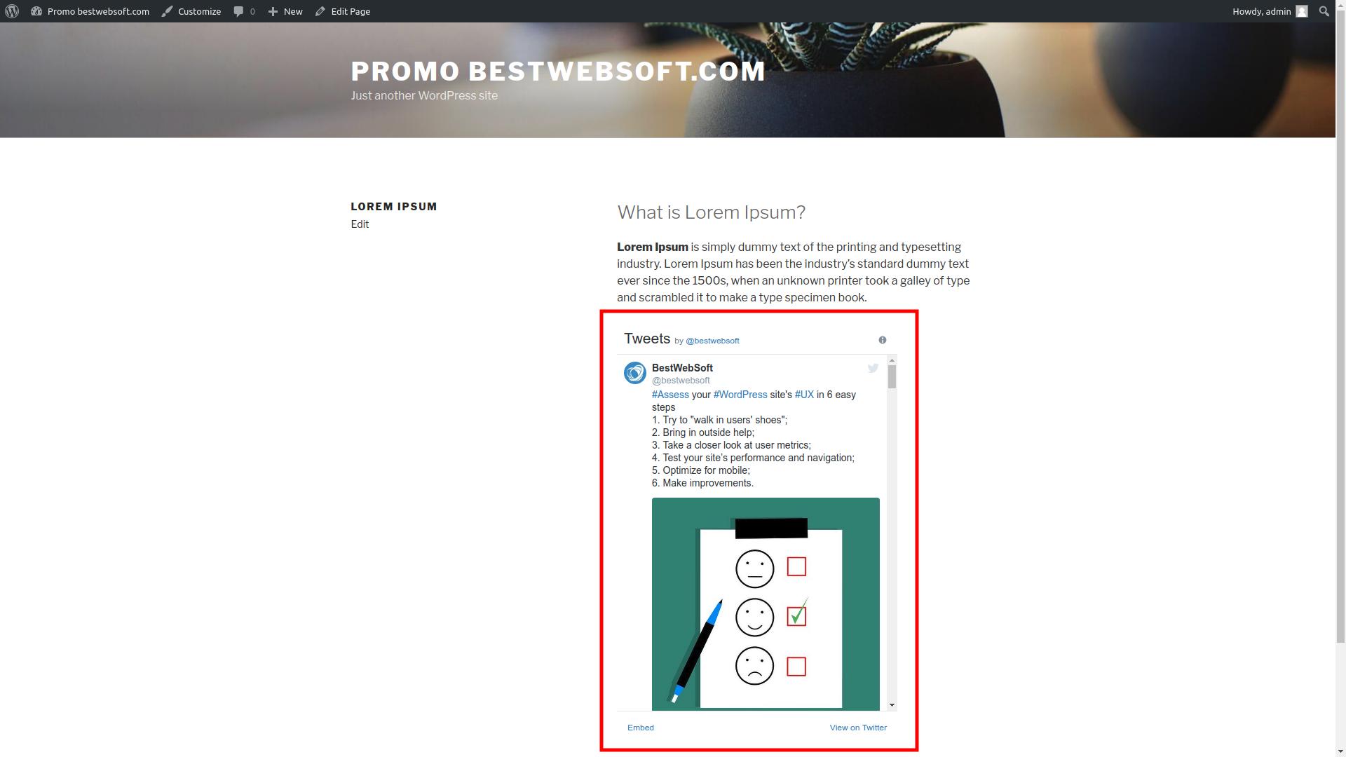bestwebsoft's twitter screenshot 4
