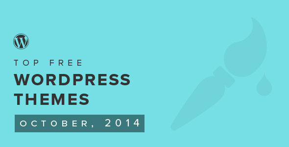 Top Free WordPress Themes of the Month — October 2014