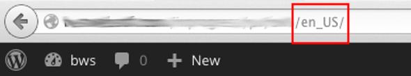 The URL bar