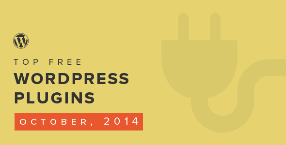Top Free WordPress Plugins of the Month — October 2014