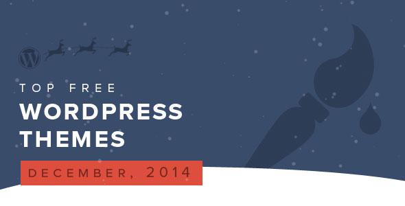 top-free-wordpress-themes-december-2014