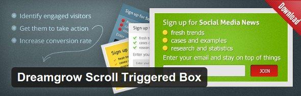 Dreamgrow Scroll Triggered Box plugin