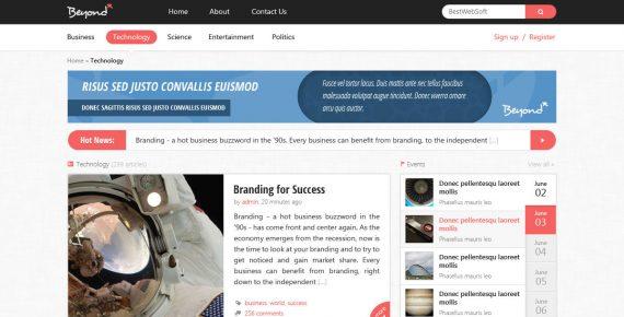 beyond – multi-purpose html template screenshot 10