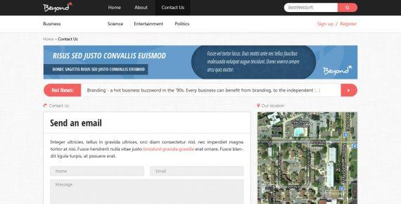 beyond – multi-purpose html template screenshot 12