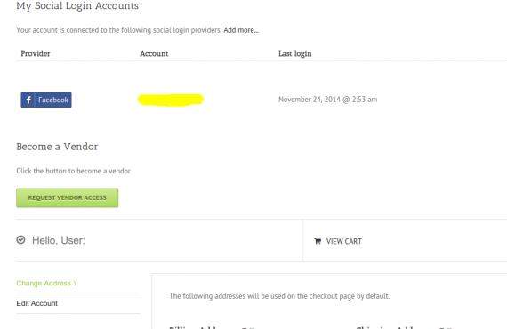 social login / becoming a vendor screenshot 2