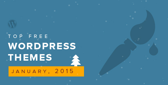 top-free-wordpress-themes-of-the-month-january-2015