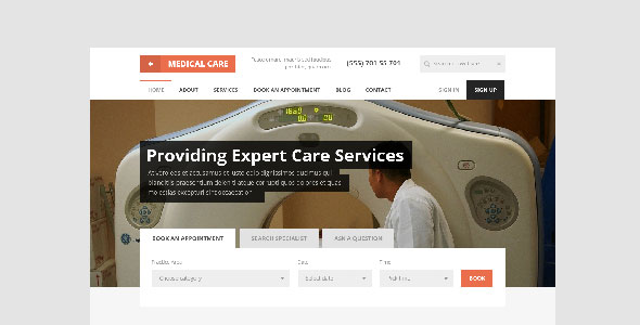 medical-care-html-template