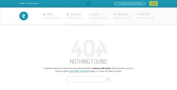 nameless – creative agency psd template screenshot 12