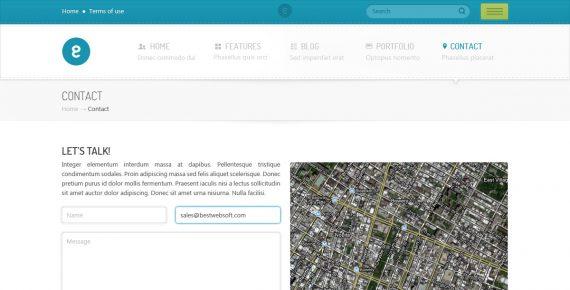 nameless – creative agency psd template screenshot 10