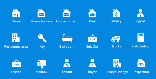 property-&-real-estate-vector-icons