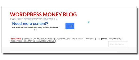 wordpress-money-blog