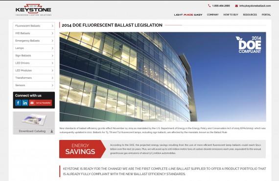 website landing pages screenshot 1