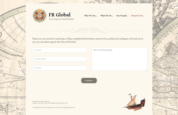 electronic brochure (web design upload) screenshot 1