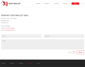 golfwallet – wordpress design & development screenshot 3