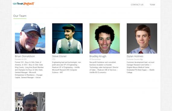 html5 website design from existing template screenshot 1
