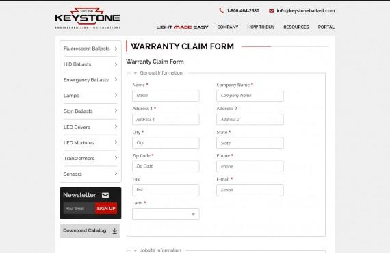 website landing pages screenshot 4