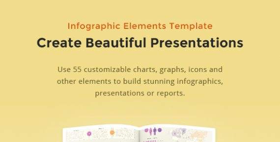 Infographic elements template banner