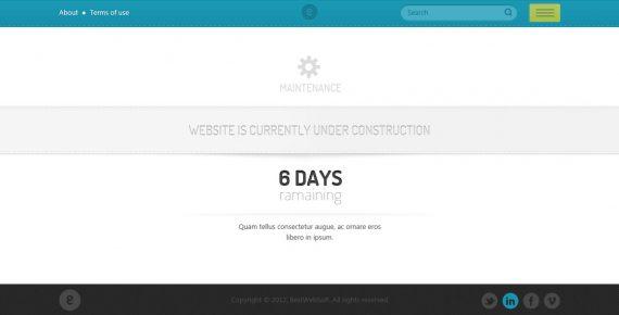 nameless – creative agency html template screenshot 5