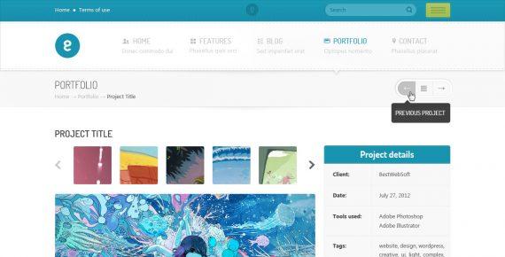 nameless – creative agency html template screenshot 6