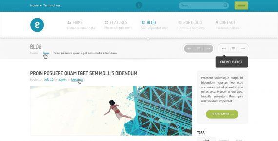 nameless – creative agency html template screenshot 8