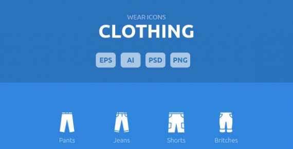 wear icons – clothing vector pack screenshot 2