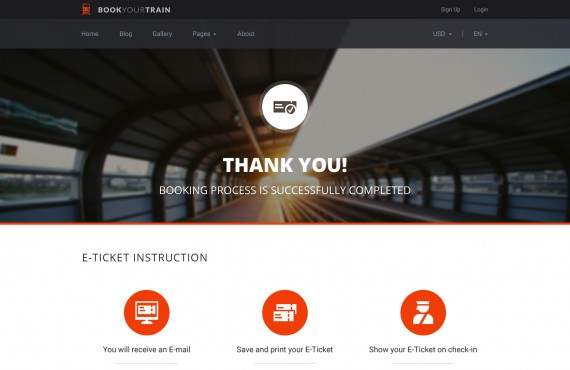 book your train – online booking psd template screenshot 13