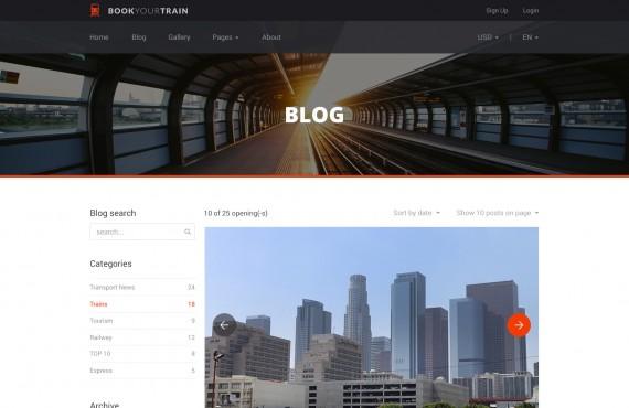 book your train – online booking psd template screenshot 12