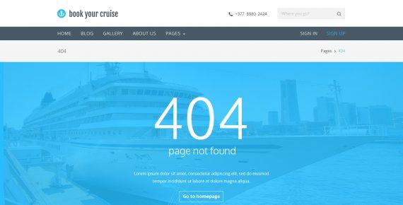 book your cruise – booking psd template screenshot 15