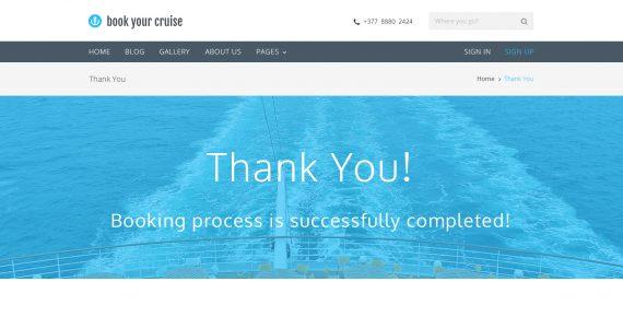 book your cruise – booking psd template screenshot 7