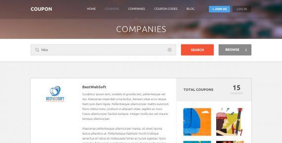 coupon – coupons and promo codes psd template screenshot 7