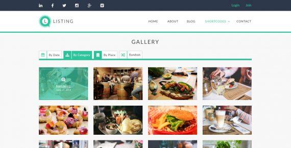 listing – directory psd template screenshot 19