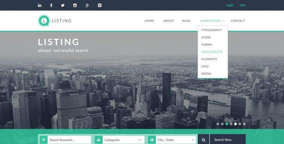 listing – directory psd template screenshot 30