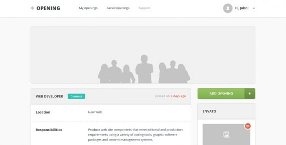 opening – job board wordpress theme screenshot 9