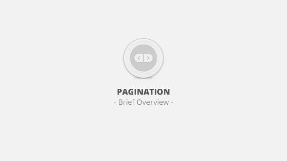 pagination-brief-overview