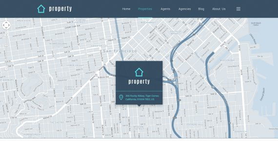 property – real estate psd template screenshot 3