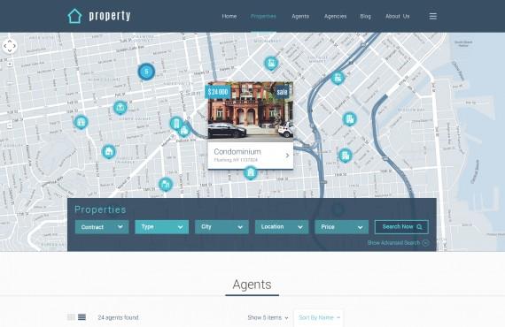 property – real estate psd template screenshot 3