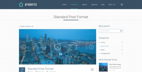 property – real estate psd template screenshot 13